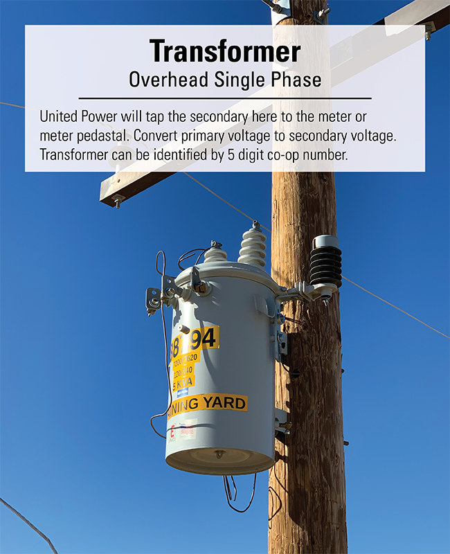 United Power Overhead Single Phase Transformer